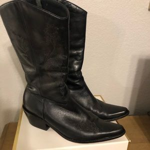 Matisse leather cowboy boots 🎀